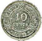 10 Cents - Victoria – reverse