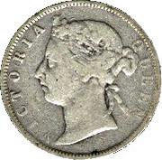 25 Cents - Victoria – obverse