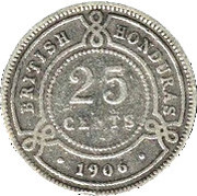 25 Cents - Edward VII – reverse