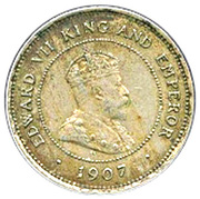 5 Cents - Edward VII – obverse