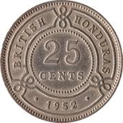 25 Cents - George VI – reverse