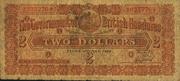 2 Dollars (Brown) – obverse