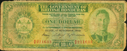1 Dollar - George VI (Green) – obverse