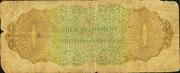 1 Dollar - George VI (Green) – reverse