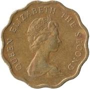 20 Cents - Elizabeth II (2nd portrait) -  obverse