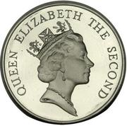 5 Dollars - Elizabeth II (3rd portrait) -  obverse