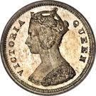 10 Cents - Victoria – obverse