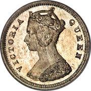 10 Cents - Victoria -  obverse