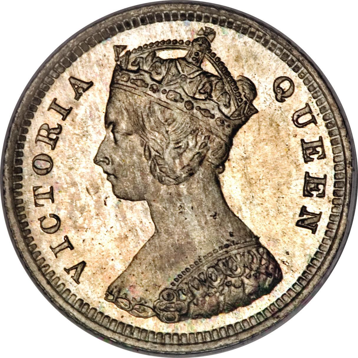 10 Cents Victoria Hong Kong Numista