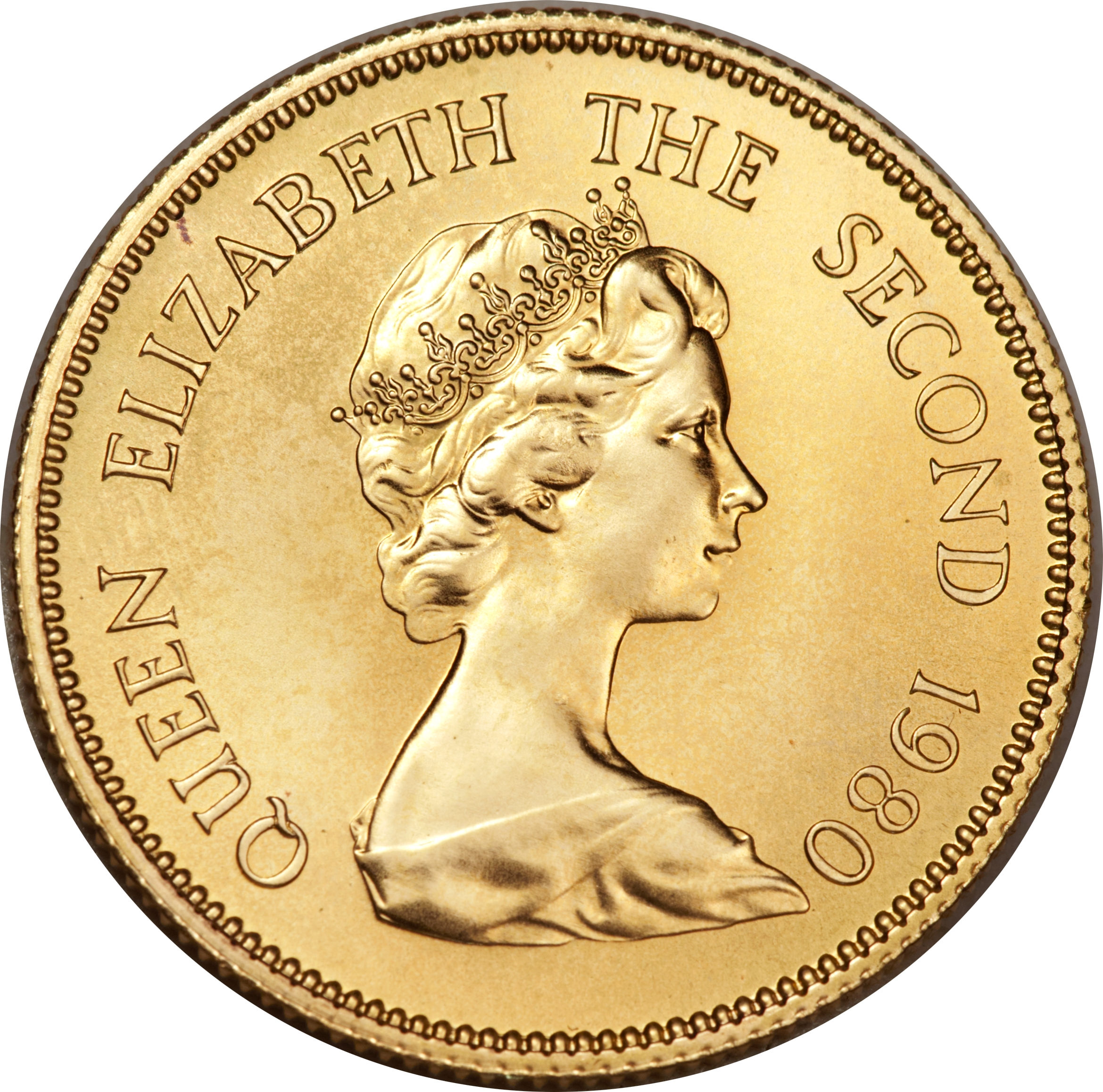 Queen elizabeth the second coin 1980 / Octanox coin 2018