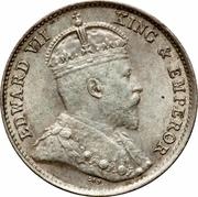 5 Cents - Edward VII – obverse