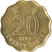 20 Cents -  reverse