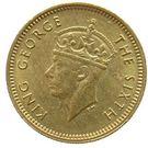 5 Cents - George VI – obverse