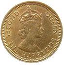 5 Cents - Elizabeth II (1st portrait; security edge) – obverse