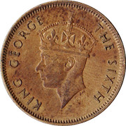 10 Cents - George VI -  obverse