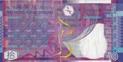 10 Dollars (Paper) – reverse