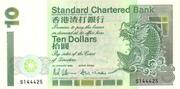 10 Dollars (Standard Chartered Bank) – obverse