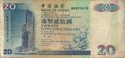 20 Dollars (Bank of China) -  obverse