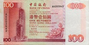 100 Dollars (Bank of China) -  obverse