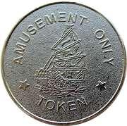 Token - Tai tin Amusement (matte) – reverse
