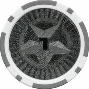 Poker Chip (Metallic Foil; Star - 1) – obverse
