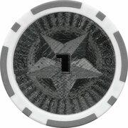 Poker Chip (Metallic Foil; Star - 1) – reverse