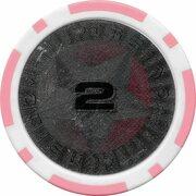 Poker Chip (Metallic Foil; Star - 2) – obverse