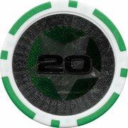 Poker Chip (Metallic Foil; Star - 20) – obverse