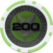 Poker Chip (Metallic Foil; Star - 200) – obverse