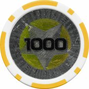 Poker Chip (Metallic Foil; Star - 1000) – obverse
