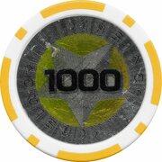 Poker Chip (Metallic Foil; Star - 1000) – reverse