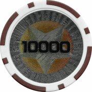 Poker Chip (Metallic Foil; Star - 10000) – reverse