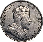 50 Cents - Edward VII – obverse