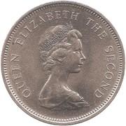 1 Dollar - Elizabeth II (2nd portrait) -  obverse