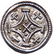 Obulus - III. Béla (1172-1196) – obverse