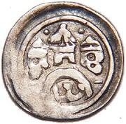Obulus - II. András (1205-1235) – obverse