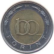 100 Forint -  reverse
