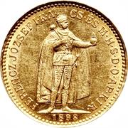 10 Korona - I. Ferenc József (Franz Joseph I - 1848/1867-1916) – obverse