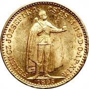 20 Korona - I. Ferenc József (Franz Joseph I - 1848/1867-1916) -  obverse