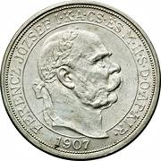 5 Korona - I. Ferenc József (Franz Joseph I - 1867-1907 - Coronation) – obverse