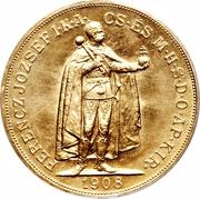 100 Korona - I. Ferenc József (Franz Joseph I - 1848/1867-1916) – reverse