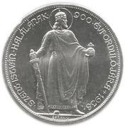 5 Pengő (Death of St. Stephan - Trial Proof Restrike) – reverse