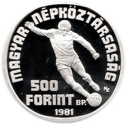 500 Forint (World Football Championship) -  obverse