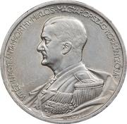 5 Pengő - Miklós Horthy (Birthday) – reverse