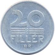 20 Fillér -  reverse