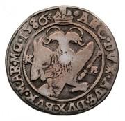 ¼ Tallér - Rudolf (1576-1608) -  obverse