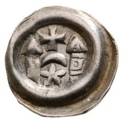 Uncertain Bracteata Obulus - III. Béla - IV. Béla era – obverse