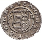 1 Denár - III. Ferdinánd (1638-1659) -  obverse