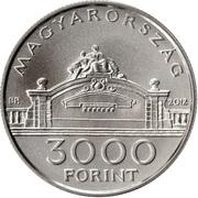 3000 Forint (Sándor Popovics) -  obverse