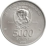 5000 Forint (Munkács Castle) -  obverse